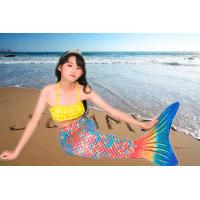 Buy cheap 3PCS Sets Toddler Swimmable Mermaid Tail For Boys / Girls Flexible Elastic from wholesalers