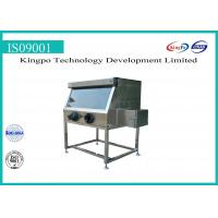 Buy cheap Lab Electrical Safety Test Equipment , Stainless Steel Glove Box Chamber from wholesalers