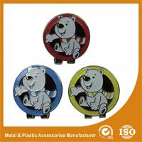 Wholesale Promotional Metal Golf Ball Markers With Soft Enamel Finished from china suppliers