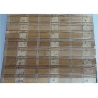 Buy cheap Roman Style Outdoor Roll Up Bamboo Blinds 0.5-3mm Slat High Strength from wholesalers
