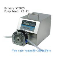 Buy cheap WT300S variable speed peristaltic pump,Peristaltic Pump,tubing pump,hose pump from wholesalers
