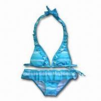 Buy cheap Sexy Fashion Allover Bikini Swimwear for Big Girl, Customized Designs, and OEM Orders Welcomed from wholesalers