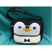 Wholesale Neoprene Personalized Kids Backpacks , Cute Owl Pattern Children Lunch Tote from china suppliers