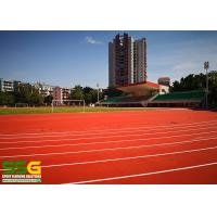Buy cheap Construction project case - 400m standard prefabricated roll running track - from wholesalers