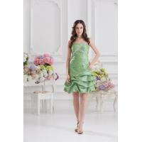 Buy cheap High End Strapless A Line Taffeta Plus Size Cocktail Party Dresses for Prom from wholesalers