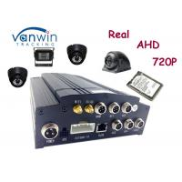 China Hard disk 4 channel HD Mobile DVR car recorder with GPS 4G WIFI support 2TB on sale