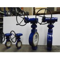 Buy cheap WCB BODY Double Eccentric Butterfly Valve , Soft Seal Butterfly Valve RF FLANGE from wholesalers