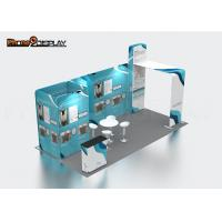 Buy cheap Portable Aluminum Custom Trade Show Booth Standard Exhibition Design Booth from wholesalers