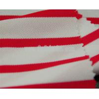 Buy cheap Cooldry cationic polyester pique mesh color stripes fabric MF-081 from wholesalers