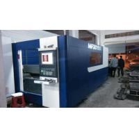 Buy cheap steel plate laser cutting machine 10mm thickness machine IPG laser power from wholesalers