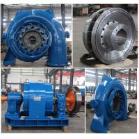 Wholesale 1000kW  Francis Hydro Turbine Pelton Hydro Turbine 1000r / min 1.41m³/s from china suppliers