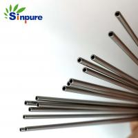 Buy cheap Customized SS small diameter medical grade stainless steel tubing  use to medical needle from wholesalers