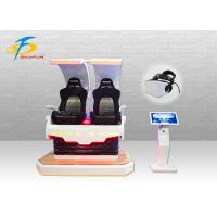 Wholesale 2 Seats 4KW Pink Godzilla VR Gaming Equipment With 360 Rotation Effect from china suppliers