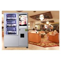 Buy cheap Alcohol Salad Juice Vending Machine With Elevator , Automated Self Service Vending Machines from wholesalers