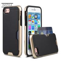 Buy cheap 2018 New Armor Protective Phone Case With Credit Card Slot Holder for iPhone 8 case from wholesalers