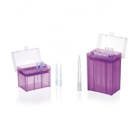 Buy cheap Multicolor plastic 1000 ul pipette tips boxes from wholesalers