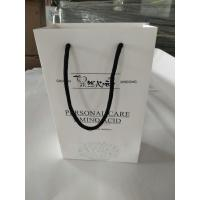 Buy cheap Promotional Printed Paper Shopping Bags , Printed White Paper Bags With Handles from wholesalers