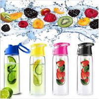 Buy cheap Fruit infuser Water Bottles Drinkware Type and Stocked,Eco-Friendly Feature Tritan Water Bottle with Fruit Infuser from wholesalers