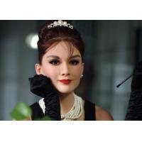 China Custom Made Audrey Hepburn Wax Figure Famous Wax Statues Nature color on sale