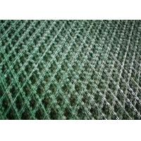 Wholesale Hot Dipped Galvanized Welded Razor Wire Mesh 100mm*100mm mesh aperture from china suppliers