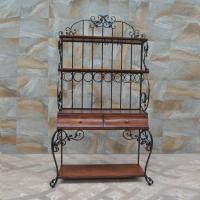 Buy cheap Iron Art Furniture Customized for American Village design the Display Racks with wooden Drawers from wholesalers