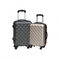 Wholesale ABS 24inch Hard Trolley Luggage With Push Up Button from china suppliers