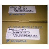 Buy cheap SGM-01A314P Yaskawa 100W  3000RPM Industrial Servo Motor Long Service Time from wholesalers