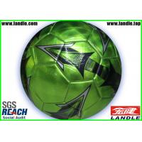 China Custom Printed PVC Soccer Balls Machine stitched Footballs Size 4 on sale