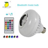Buy cheap RGB E27 LED Wireless Light Color Bulb and Speaker Disco ball Light from wholesalers
