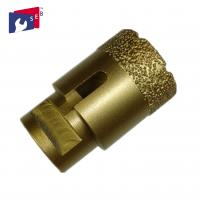 Buy cheap Vacuum brazed diamond Core bits for porcelain tile granite marble stone from wholesalers