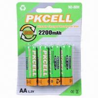 Buy cheap NiMH Batteries, Already Charged/Ready for Use, Holds 80% Capacity after 12-month at Store from wholesalers