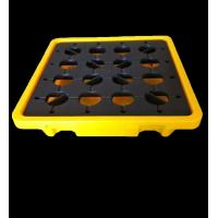 Buy cheap 2 ways Wntry Handlift  Nestable Plastic One Oil drum Chemical Containment spill pallet For liquid drums from wholesalers