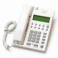 Buy cheap Caller ID Phone with 16 Digit LCD Display for Name and Number, Message Box Function from wholesalers