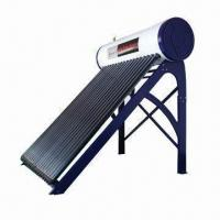 Buy cheap Integrative pressurized solar water heater with 1.5mm galvanized sheet frame from wholesalers