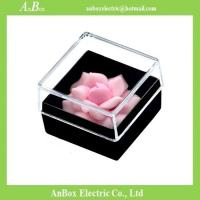 Wholesale Cheap price Poly Styrene PS material high transparent clear plastic storage box with cover from china suppliers