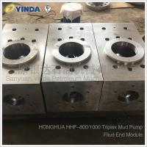 Wholesale HHF-800/1000 Triplex Fliud End Mud Pump Module NB800M.05.00 GH3101-05.00 from china suppliers
