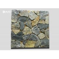 Wholesale Yellow And Grey Irregular Cultured Stone Limestone For Wall Cladding Nature Surface from china suppliers