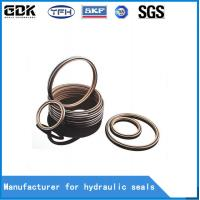 Buy cheap HBTS Bronze Filled PTFE Hydraulic Buffer Seal Hydraulic Rubber Seal Rings from wholesalers