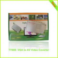 TY909: VGA to AV video hdmi converter, PC to TV hdmi video converter Manufactures