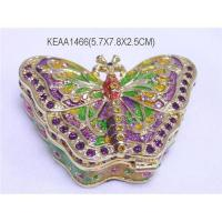 Wholesale Butterfly Jewelry box from china suppliers