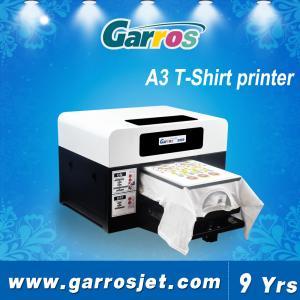 China Garros tshirt plotter direct to garment 3d t shirt printing machine on sale