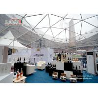 Buy cheap White Large Geodesic Dome Tents Aluminium Frame for Outdoor Event from wholesalers
