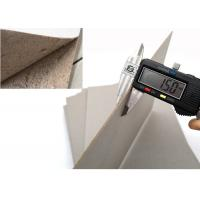 Buy cheap Stock Hard Paper Stiffness 1.5mm Grey Paperboard Sheet of Mixed Pulp from wholesalers