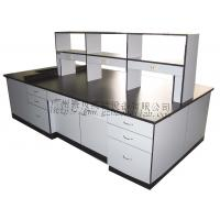 Buy cheap White Multifunctional Laboratory Desk Furniture Good Load Bearing from wholesalers