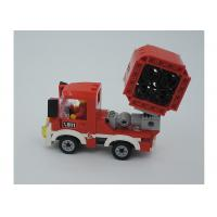Wholesale Children's Toys Building Bricks Mini Fire Fighting Vehicle 3 Deformation 154Pcs from china suppliers