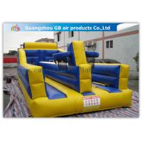 Buy cheap Exciting Child Bungee Run Inflatable Sports Games With Basketball Hoop from wholesalers