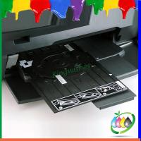 Buy cheap Easy Using DVD CD Card Tray For Epson L810 R290 Inkjet Printer Directly Printing from wholesalers