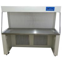 Buy cheap class 100 horizontal air flow laminar flow bench for lab with hepa filter pollution monitoring from wholesalers