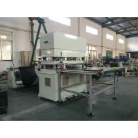 foam cutting machine cut from roll to sheet with cutting die Manufactures