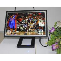 Large 19 Inch Video / Audio WIFI Digital Photo Frame With Video Loop Play